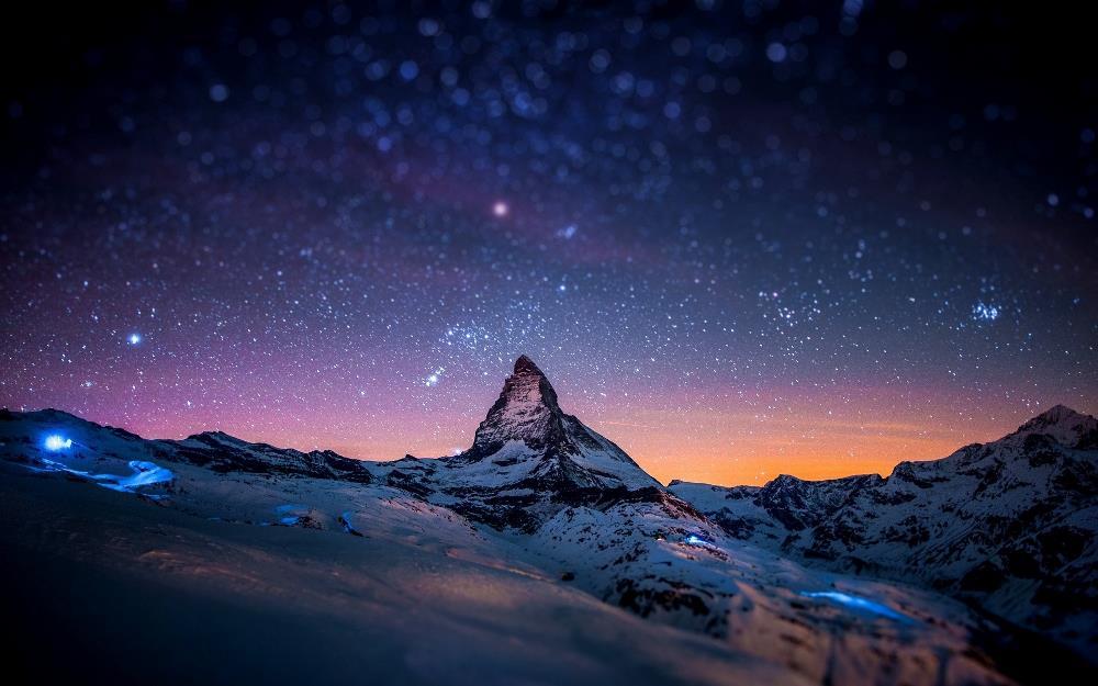 Matterhorn Mountain Stars