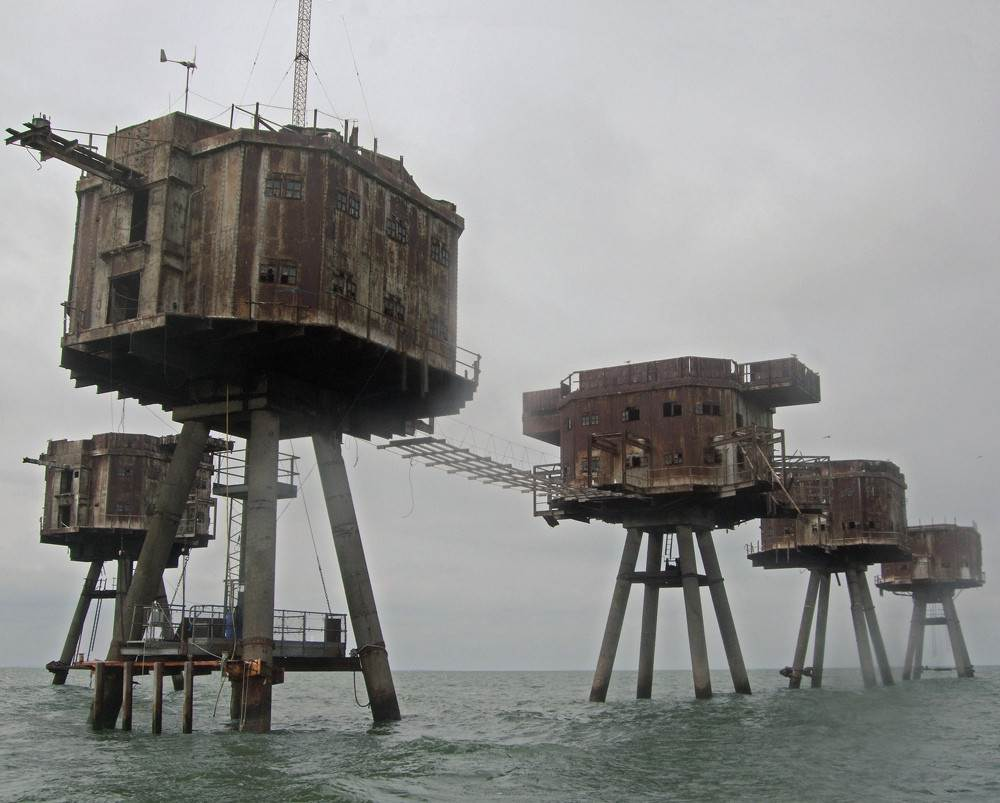 maunsell sea forts england Englands Historic Maunsell Sea Forts