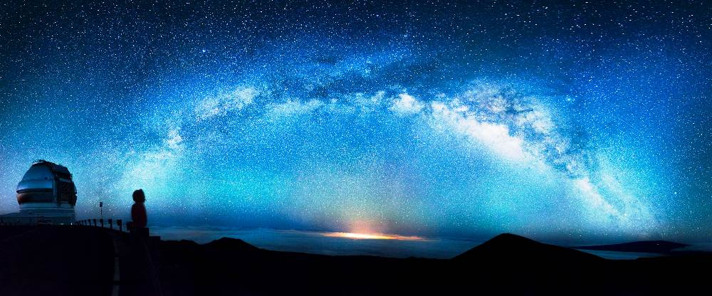 Milky Way Mauna Kea