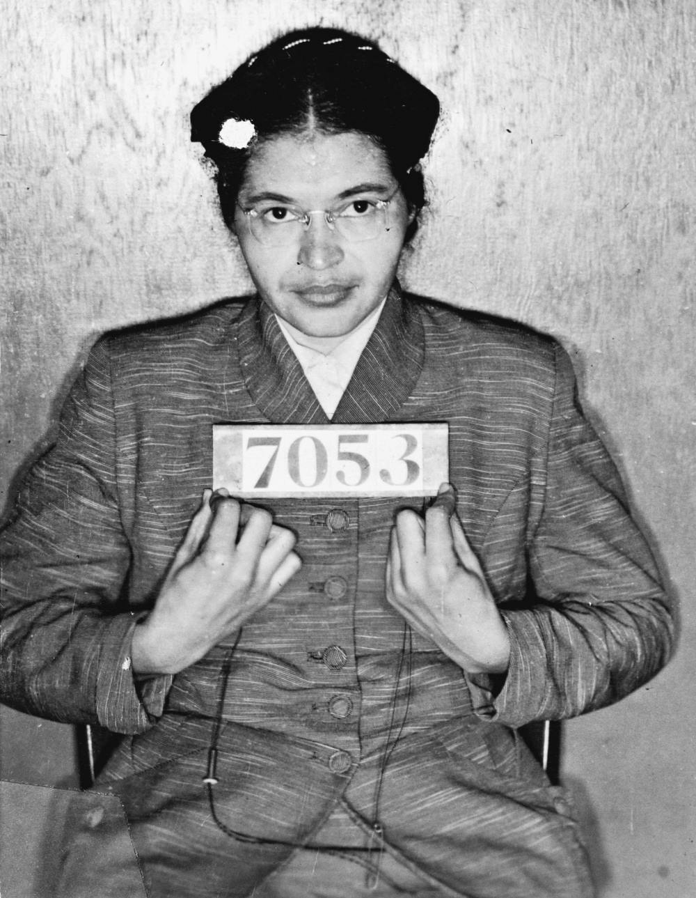 rosa parks mugshot december 1955 The Resilience Of Rosa Parks Mug Shot