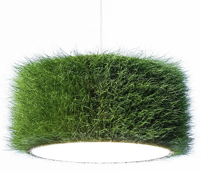 Green Design Grass Lampshade