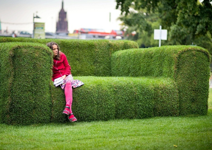Green Design Grass Sofa