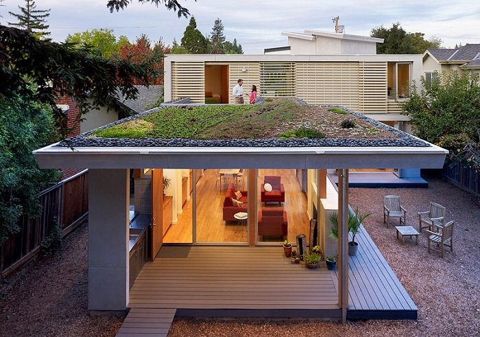 Green Design Green Roof Menlo