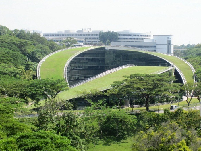 Green Design Roof Singapore