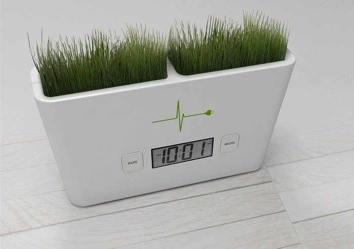 Green Design Organic Clock
