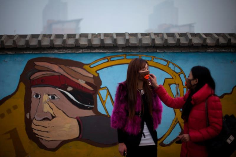 Masks Environmental Crisis In China