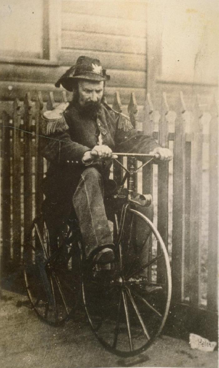 Joshua Norton On Bike