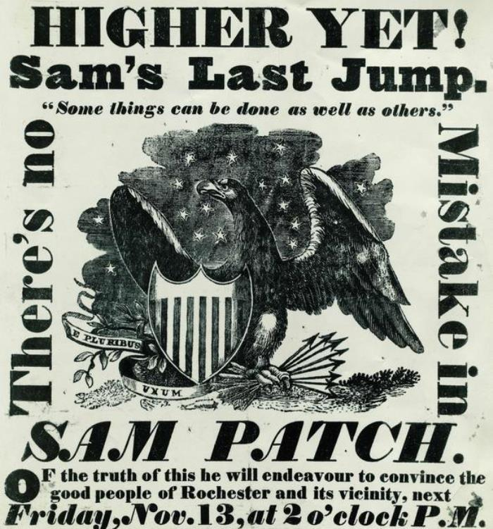 Sam Patch Cult Hero