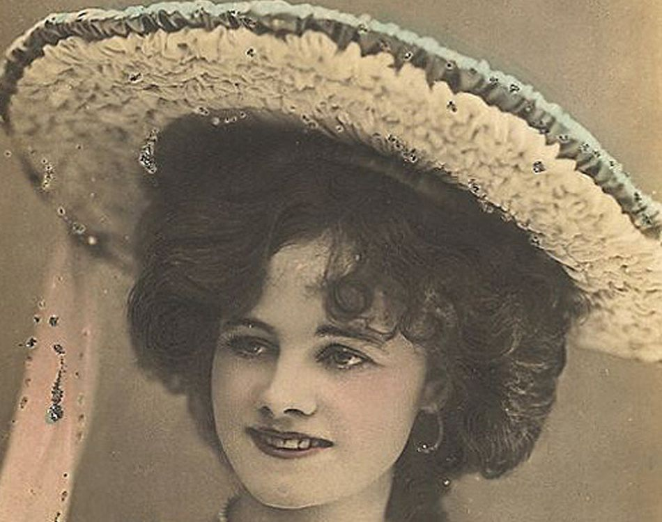 Hat History Edwardian Two