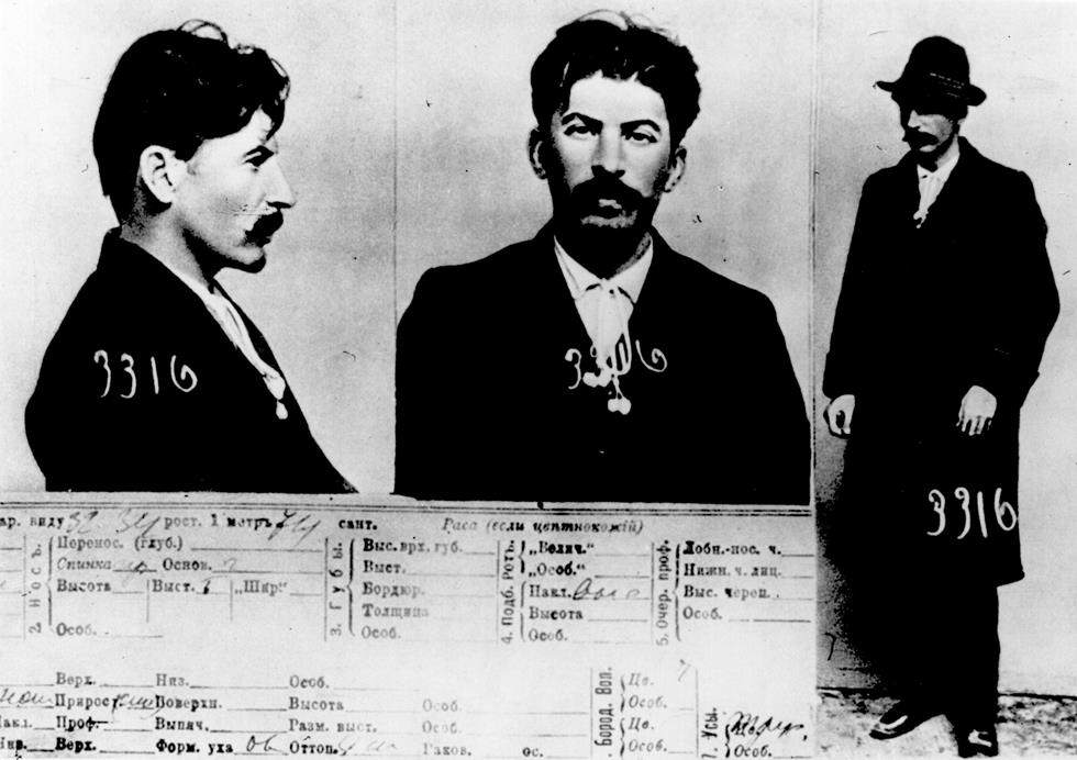 Mugshot Joseph Stalin