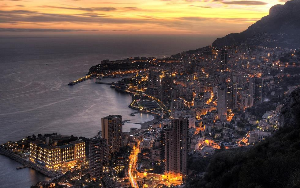 monaco at night Monaco Shines At Night