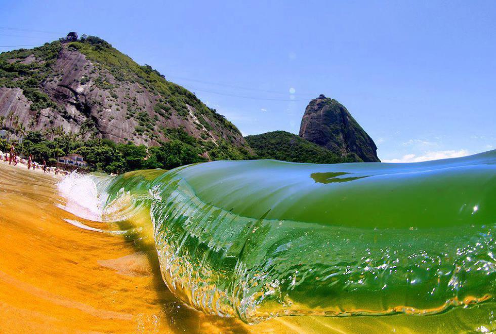 Red Beach Rio De Janeiro