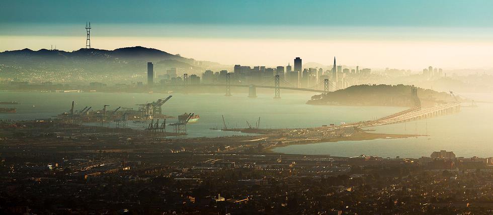 San Francisco From Oakland