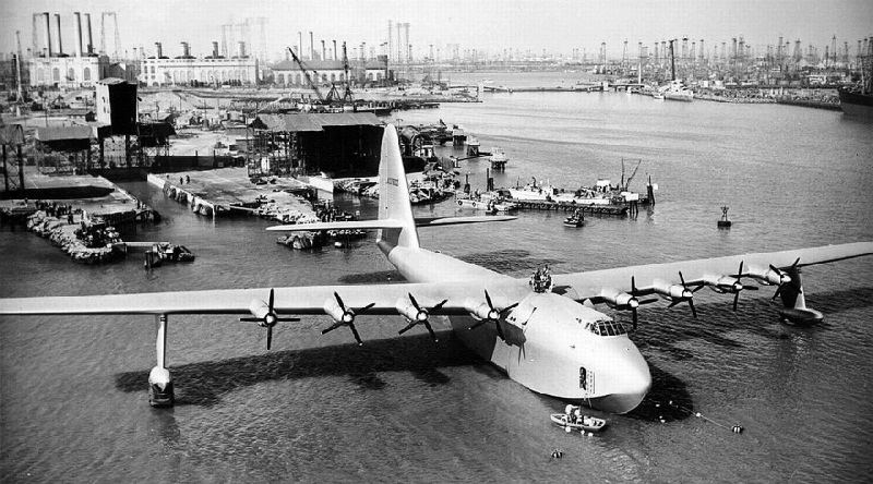 Spruce Goose Awaiting Takeoff