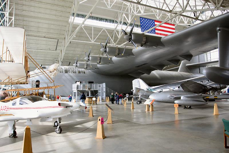 Spruce Goose Hughes H-4 Hercules Today