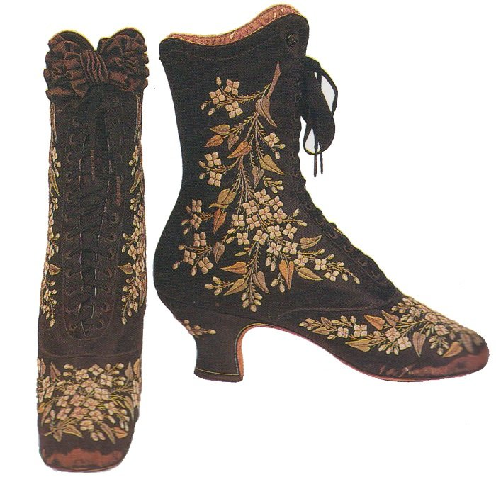 History Of Footwear 19th Century Boots