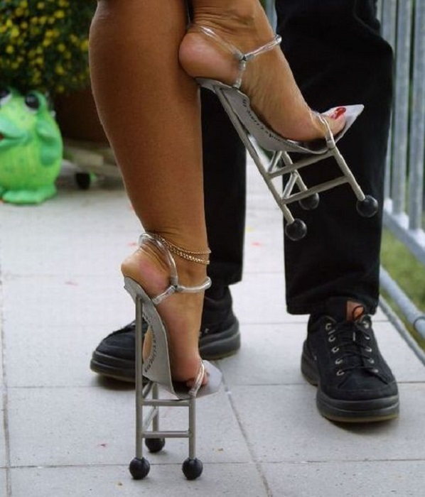 History Of Footwear Craziest Shoes