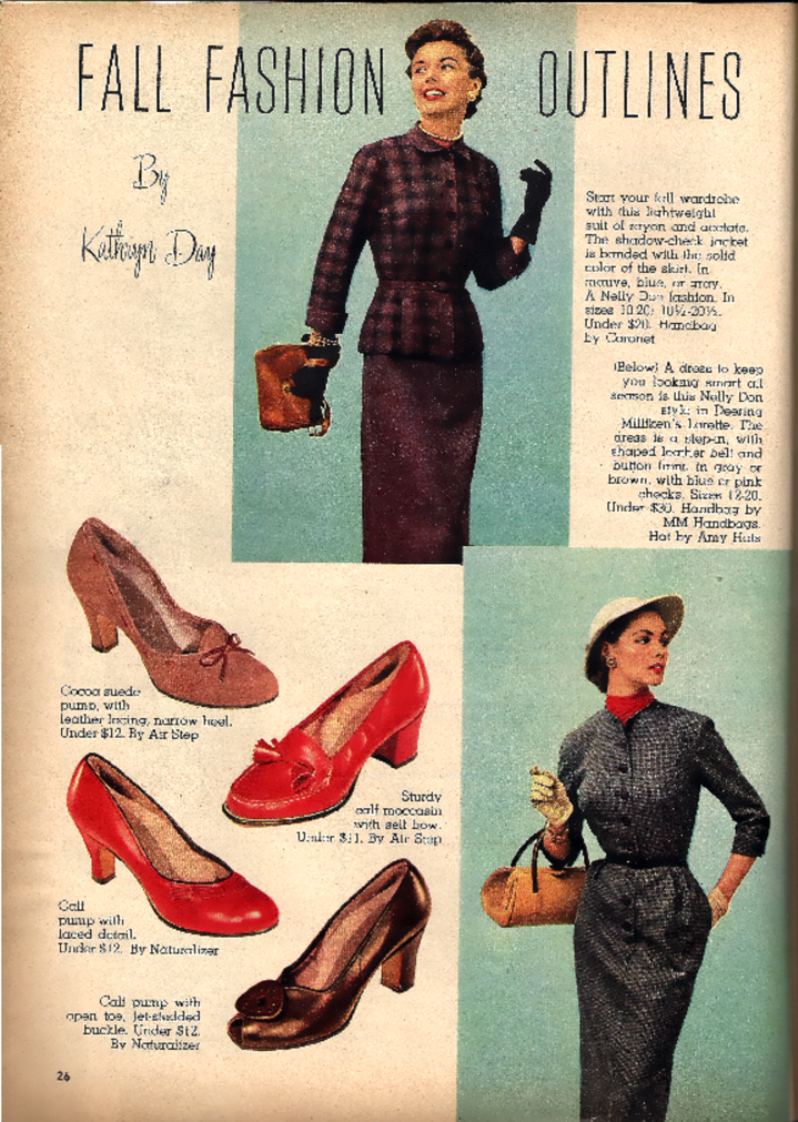 History Of Footwear Mid 20th Century Ad
