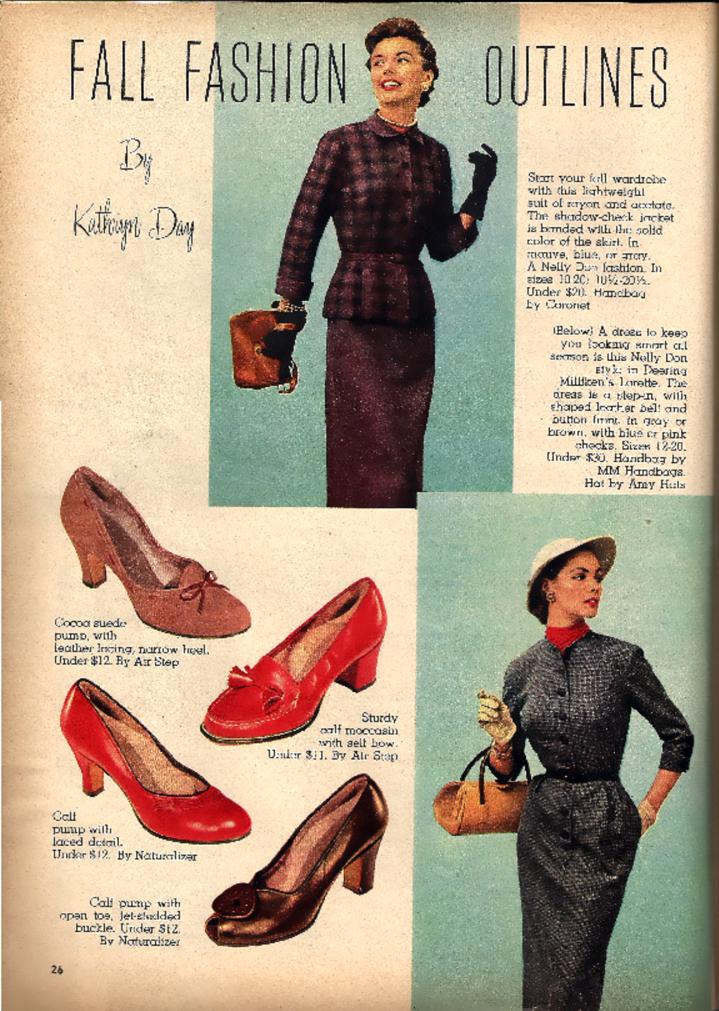 History Of Footwear Mid 20th Century Ad