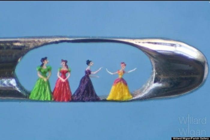 Micro Art Wigan Princesses