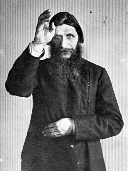 Creepy Russian Mystic