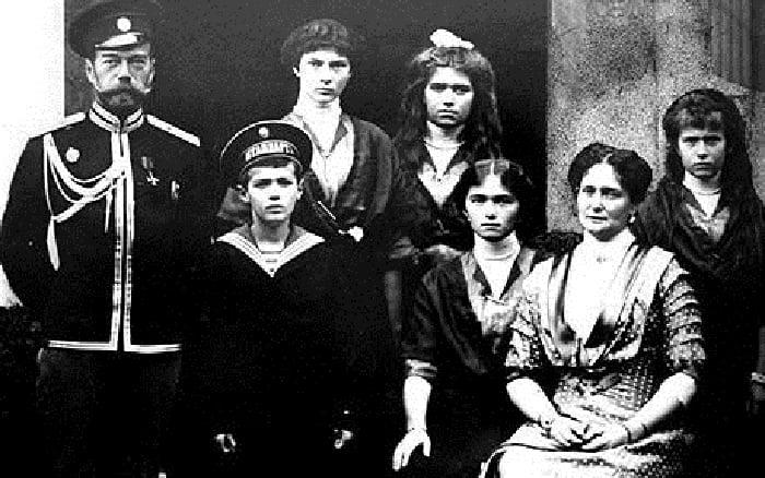 Rasputin Czar And Family