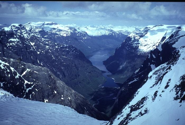 Stunning Glaciers Jostedalsbreen Glacier