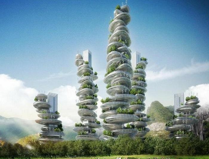 Vertical Gardens Shenzhen Asian Cairn Farmscraper