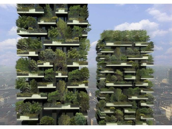 Vertical Gardens Bosco Verticale