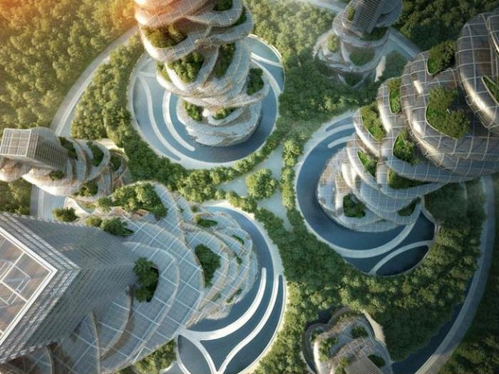 Vertical Gardens Shenzhen Asian Cairns