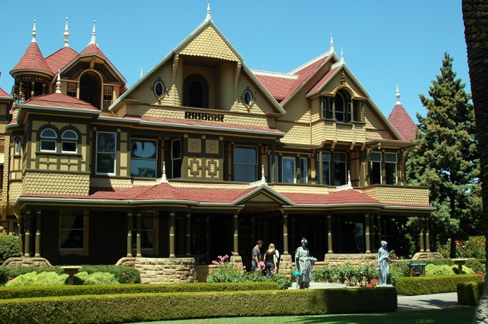 Front Of Winchester House