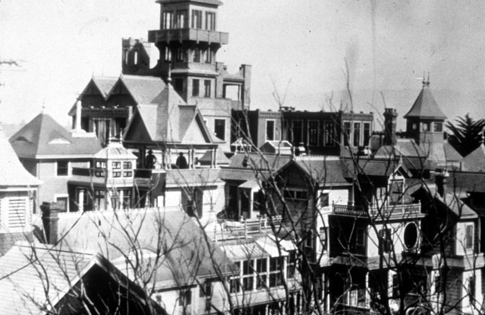 Winchester Mystery House Old