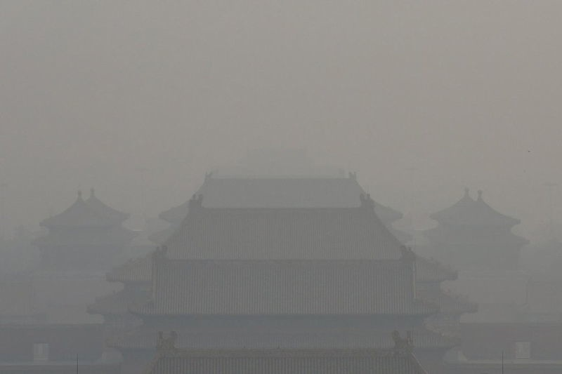 Images Of The Beijing Smog