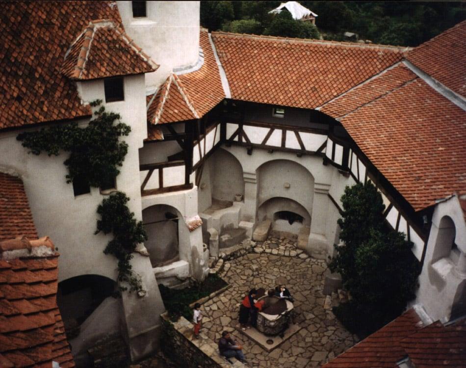 Haunted Castles Bran Courtyard