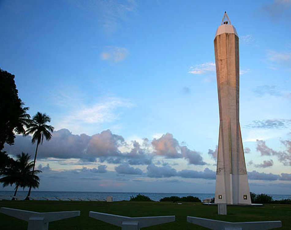 Iconic Lighthouses Madang Dusk