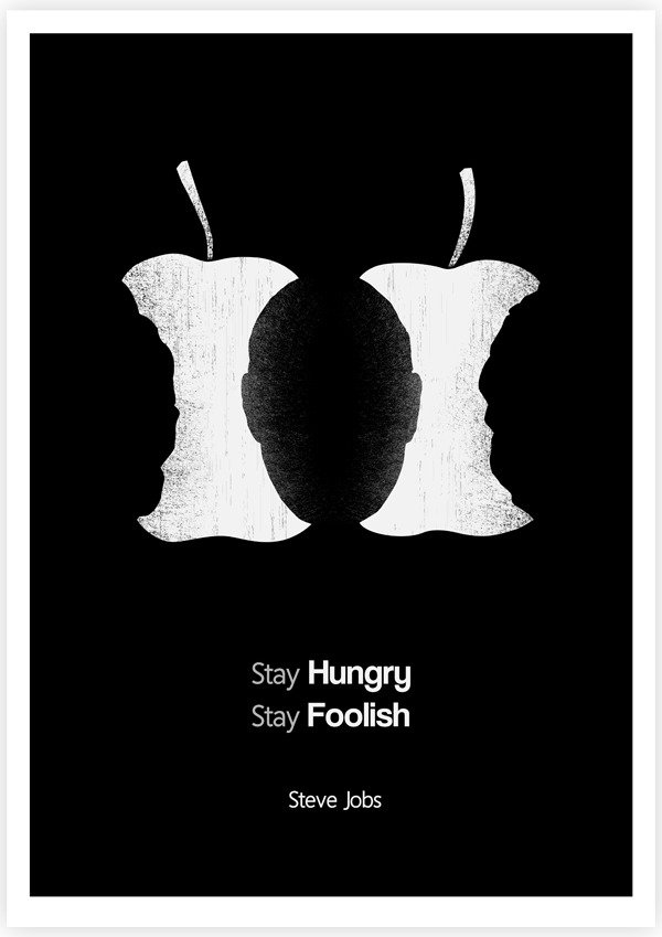 Tang Yau Hoong Illustrated Steve Jobs Quote