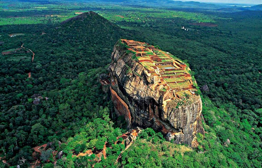 lions rock sri lanka The Legend Of Sri Lankas Sigiriya Rock