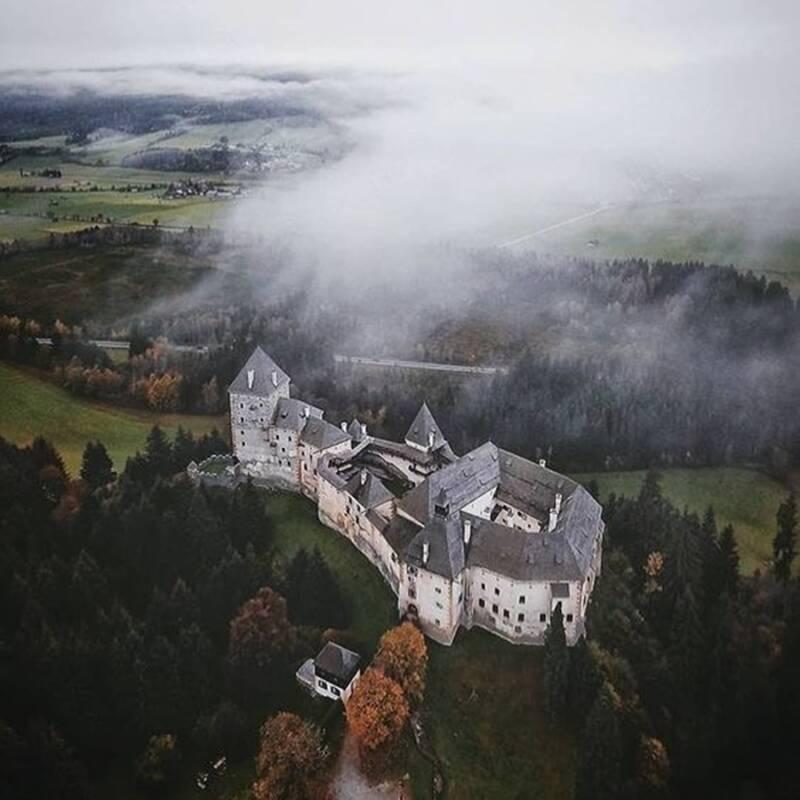 Moosham Castle Landscape