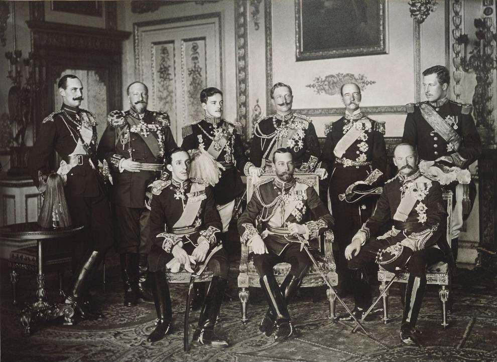 Nine European Kings 1910