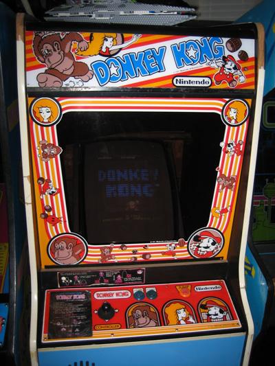 Nintendo History Donkey Kong Booth
