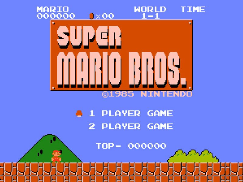 nintendo history mario bros screen shot Nintendos Remarkable History