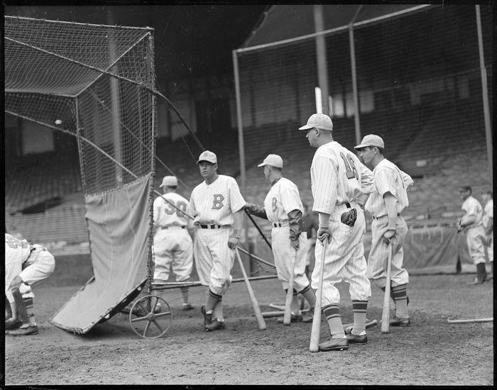 Old Baseball Teams Boston Bees Players