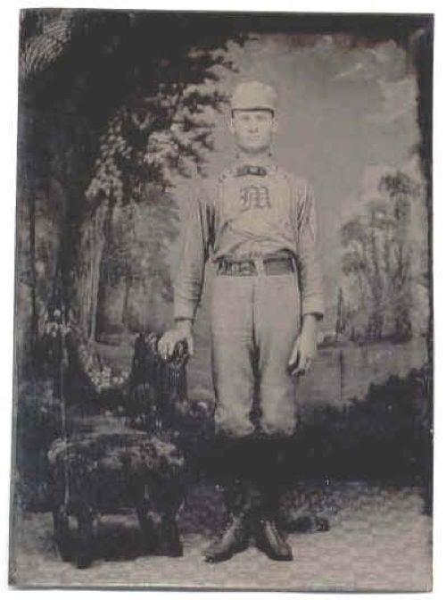 Defunct Baseball Teams NY Mutuals Player