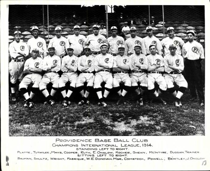 Defunct Baseball Teams Providence Grays Team