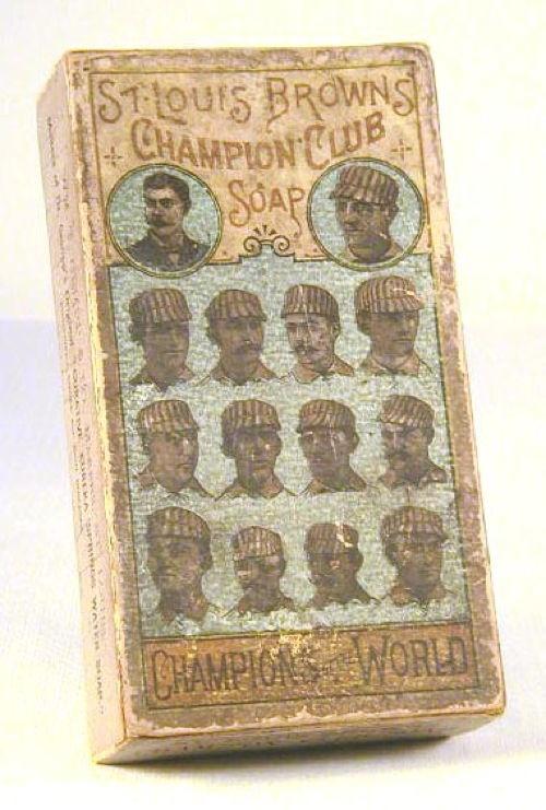 Old Baseball Teams SL Browns Soap