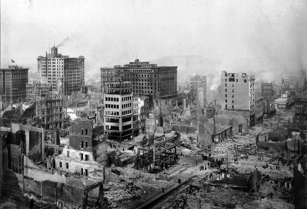 san francisco earthquake 1906 The Harrowing Aftermath Of A 1906 Earthquake In San Francisco