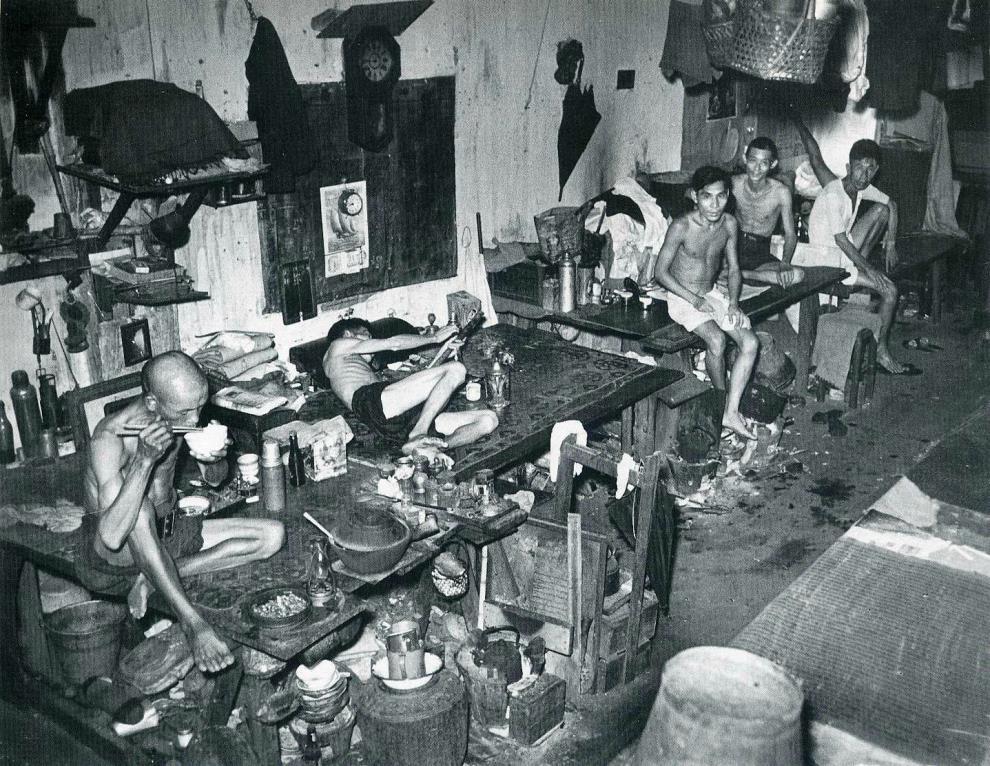 1941 Singapore Opium Den