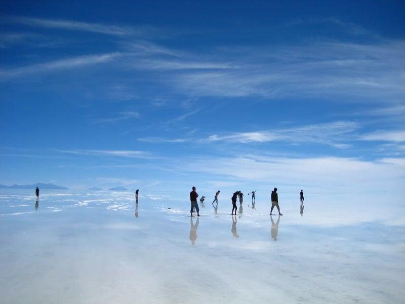 Uyuni Salt Flats Image