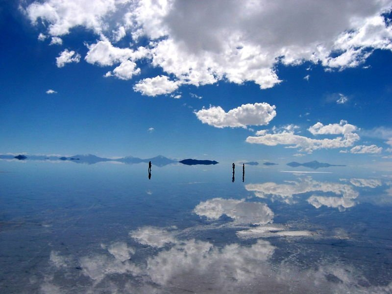 Uyuni Salt Flats Photograph
