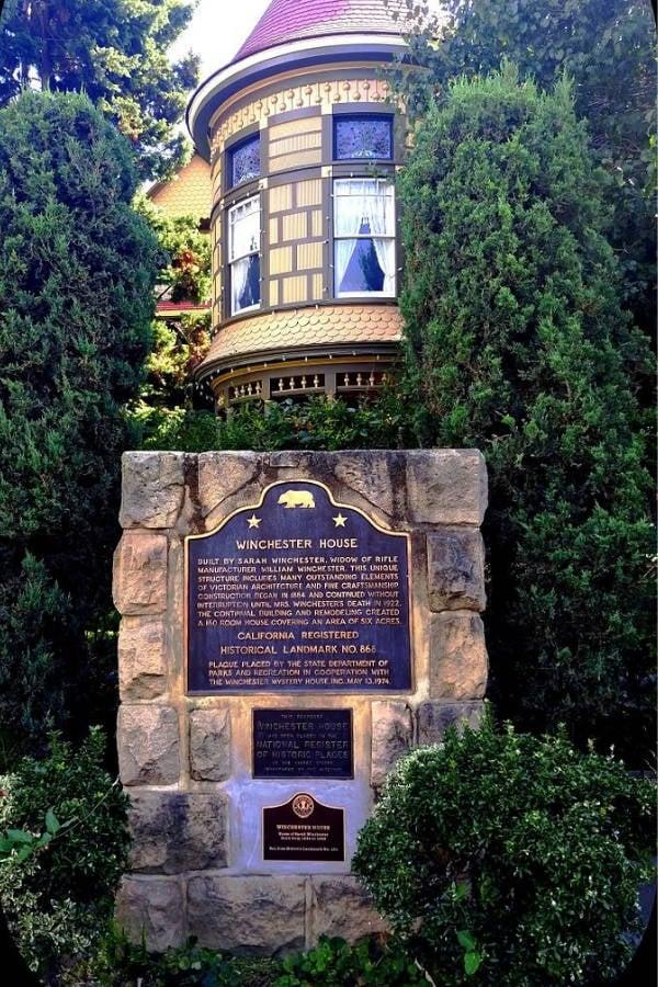 Winchester Dedication Plaque